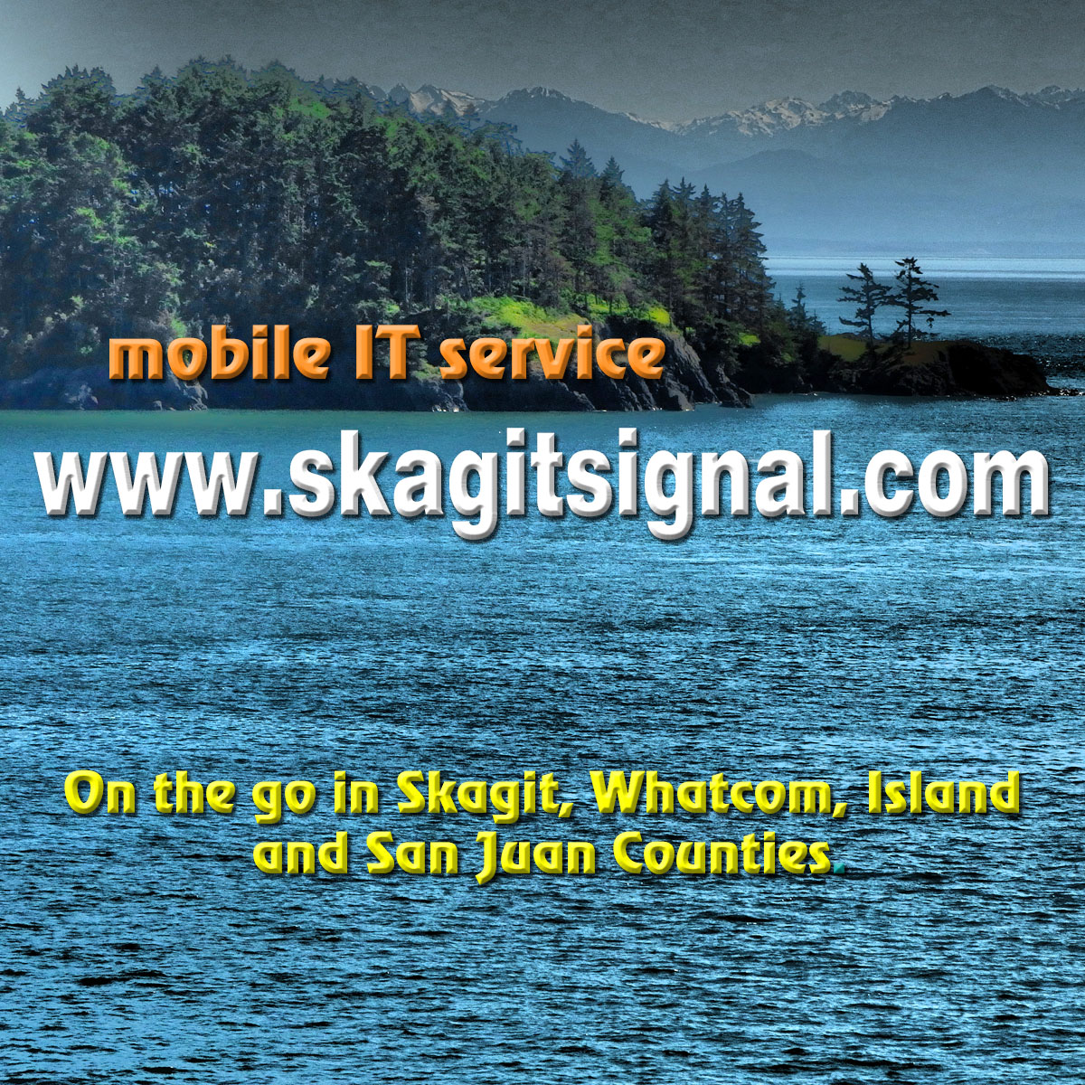 Skagit Signal serves residential and commercial customers throughout Skagit, Whatcom, Island and San Juan Counties